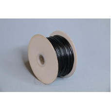 2mm 內折仿皮繩 100碼 黑色