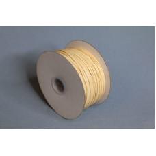 2mm 內折仿皮繩 100碼 米黃色