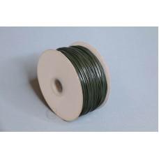 2mm 內折仿皮繩 100碼 軍綠色